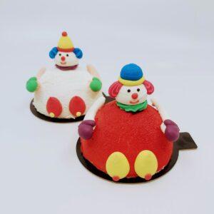 clown ijsgebakje