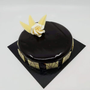 Dame Blanche taart       6 personen